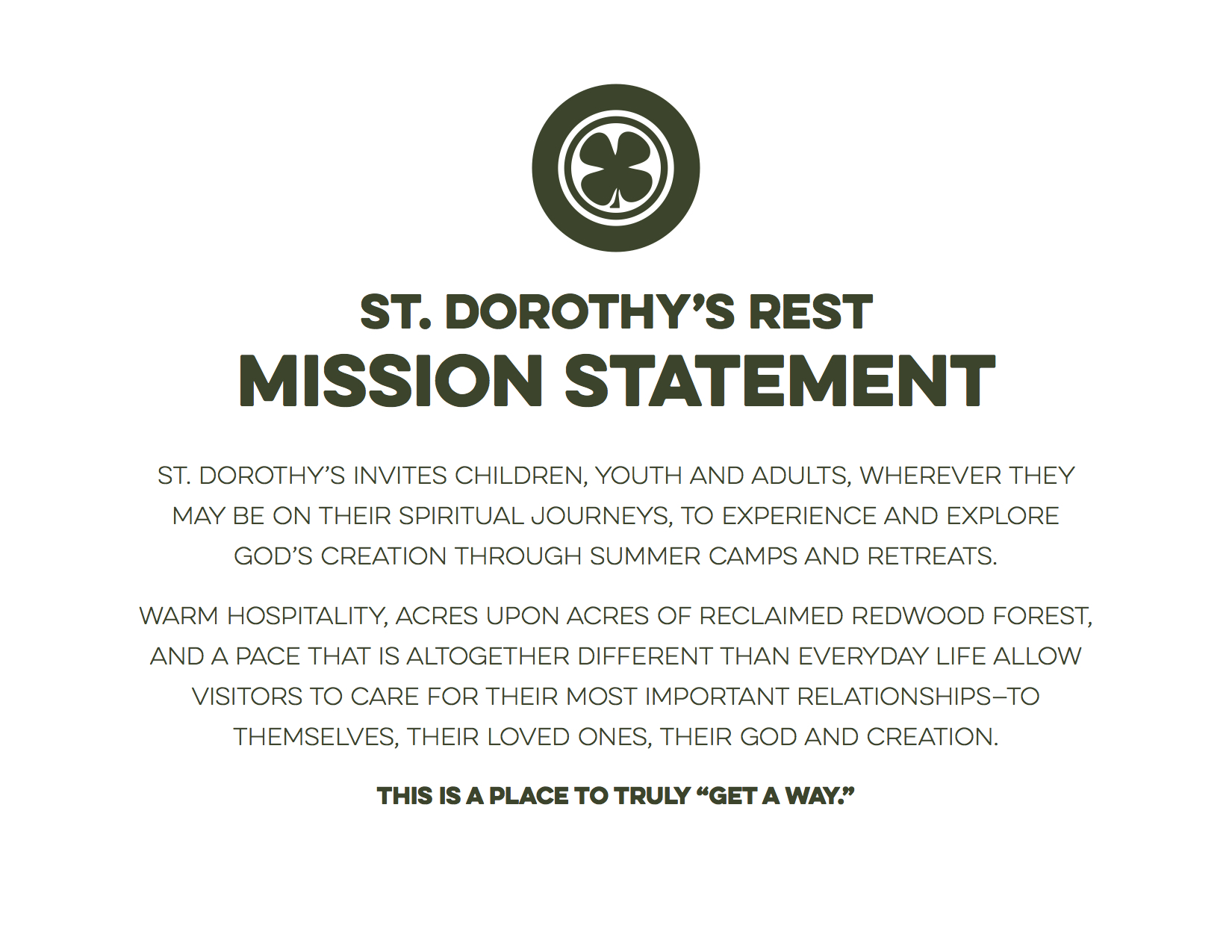 SDR Mission Statement